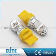 3156 3157 7440 T20 F1 30W 750LM LED Lámpara de cola de reserva inversa Lámpara de potencia Hight White Bright con alto quanlity