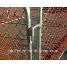 Chain Link Crowd control Barrier