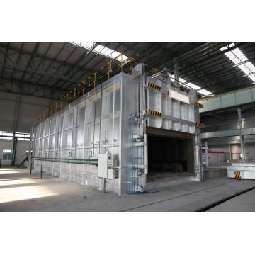 Industrial aluminum coil annealing heat treatment furnace
