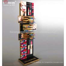 Verbessern Sie Ihre Marke bei Einzelhandel Attracctive Custom Design Metall Einzelhandel Store Counter Kosmetische Display-Einheiten