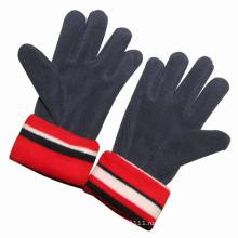 Дети мода флис трикотажные зимние теплые перчатки (YKY5433)