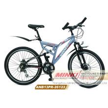 Bicicleta da montanha da suspensão da liga (ANB13PR-26122)