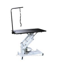 Veterinary beauty hydraulic lifting animal clinic grooming table