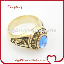 Special cool blue diamond ring jewelry for men