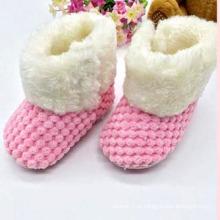 O bebê novo carreg as sapatas infantis do bebê O bebê caçoa sapatas (KX715)