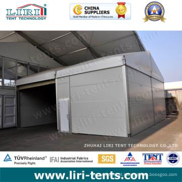 Tenda inflável grande do armazém de alumínio inflável para o armazenamento
