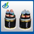 Câble d'alimentation aérien isolé par PVC de noyau en aluminium de 0.6 / 1KV
