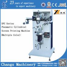 Spc-300m Pneumatic Cylindrical/Flat Screen Printer