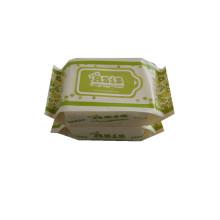 Tapa de plástico para toallitas húmedas Tapa superior abatible