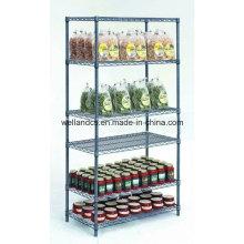 NSF Genehmigung Gondel Store Metall Lagerregal mit 6 Regalen