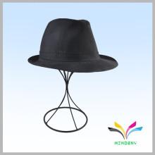 Estante de exhibición de encargo moderno de la gorra de béisbol del alambre del tabletop de la venta caliente
