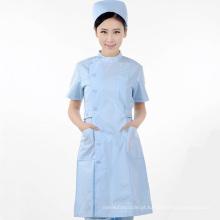 design enfermeira branco uniforme