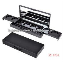 Kosmetikverpackung schwarz kompakt gepresstes Pulvergehäuse