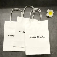 Verpackung Recycelbare Taschen Kraftpapier Geschenk