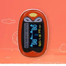Precioso oxímetro de pulso para niños