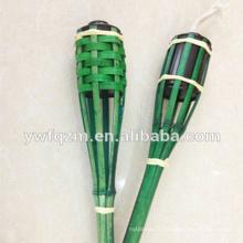 Lampe torche en bambou bon marché pour l'éclairage de jardin