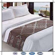 Deluxe neues Ankunfts-5 Stern-Hotel verziertes Bett-Schal