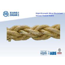 High-Strength Wear-Resistant Vessel Towed Rope