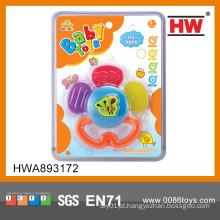 Atraente Lovely mini bebê teething brinquedo Silicone Baby Teething