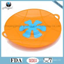 BPA Free Cooking Tool tampa da bandeja do silicone sobre a tampa do tampão do derramamento do potenciômetro SL17