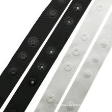 Rundes Kunststoff-Druckknopfband 25x25MM