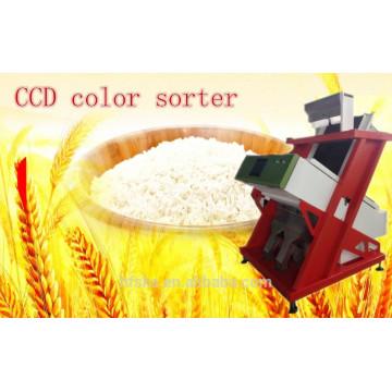 Melhor Máquina de Classificador de Cor de Arroz CCD de Fábrica / Máquina de Ordenação Óptica com Serviço de Engenheiro Oversea
