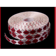 General Woven Rainbow Ribbon Three Color Polyester Weave Ribbon