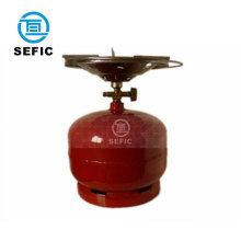lpg gas cylinder prices with cap and valve 2kg/3kg/5kg/6kg camping use