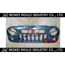 Molde de grade de carro de plástico de injeção a quente personalizado OEM