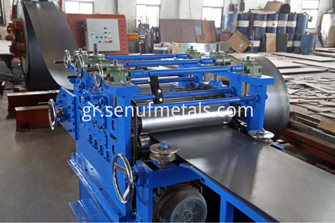highway guardrail forming machine straightening