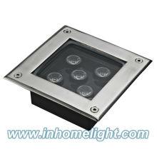 Quadratische unterirdische Lichter 5W IP68