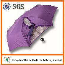 Besonderen Druck automatisch öffnen und schließen Regenschirm mit Logo