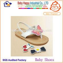 Sandales à glissière pour enfant à bascule