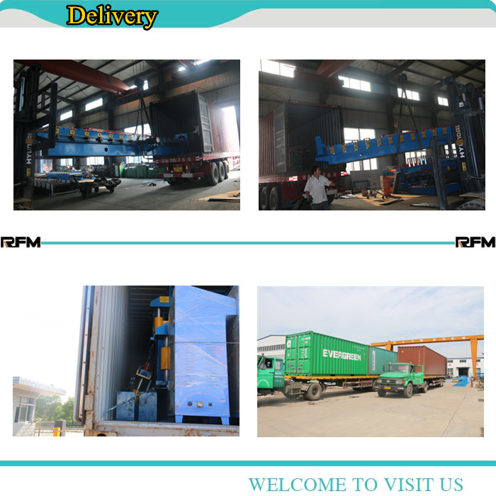 Galvanized corrugated Form Machine