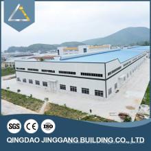 1000 metros quadrados Prefab Galvanized Steel Building