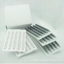 Boîte de 50 Black Long Stérile Disposable Plastic Tattoo Conseils Fourniture de buse