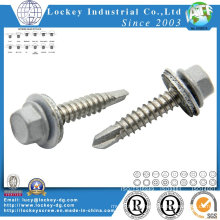 Stainless Steel 316 Hex Washer Head Roofing Screw Roof Screw