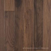Suelo de madera maciza de nuez negra americana de varias capas