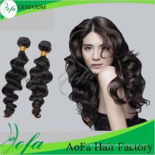 Aofa Unprocessed Indian Human Virgin Hair Remy Hair Weft