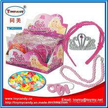 Kunststoff Mädchen Zubehör Geschenk Spielzeug mit Süßigkeiten