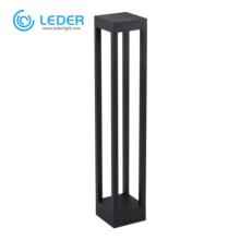 LEDER 7W Black Aluminum CREE LED Bollard Light