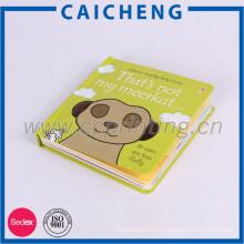Benutzerdefinierte Druck Hardcover Printing Kinder Board Book