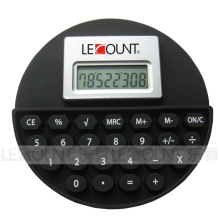8 Digits Round Shaped Silicon Calculator (LC524A)