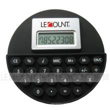 8 chiffres calculatrice en silicium en forme de rond (LC524A)