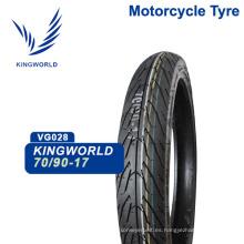 Neumático de goma para motocicleta 90/80 17