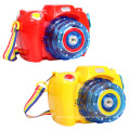 Camera Bubble Blowing Toys Fully-Automatic Soap Bubble Machine Electric Music Light Summer Outdoor Children Toys