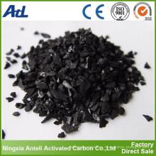 Carbón activado granular 4x8 para recuperación de solventes