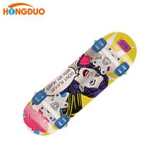 Все виды большие колеса деревянные палубы скейтборд Китай