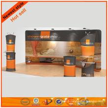 Présentoirs de grande taille pour le stand de tissu de maille 10x29 'de conception de Changhaï
