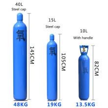 Manufacturer Export medical oxygen cylinder for sale